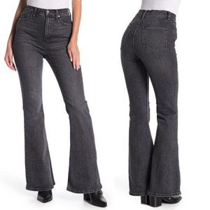 Free People CRVY Robin High Waist Flare Jeans 34